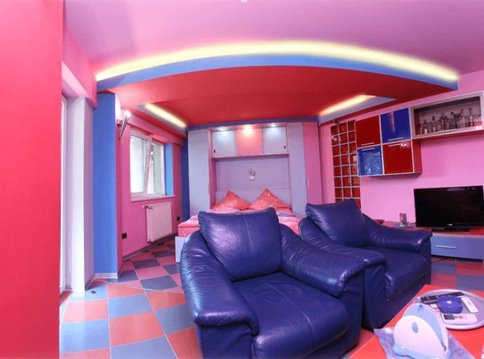 Timisoara appartamento attico 5 stanze 4 camere da letto - Camere da letto da ragazza ...