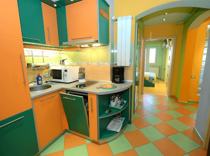 Short term apartment 2 in central area Timisoara, main hallway