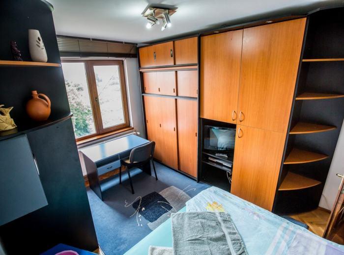 Studio apartment 3 short term rentals Timisoara, Bright living room-possible the second bedroom D2
