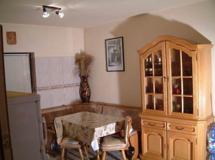 Vidican apartment 4 rentals in Timisoara, dining area well lit