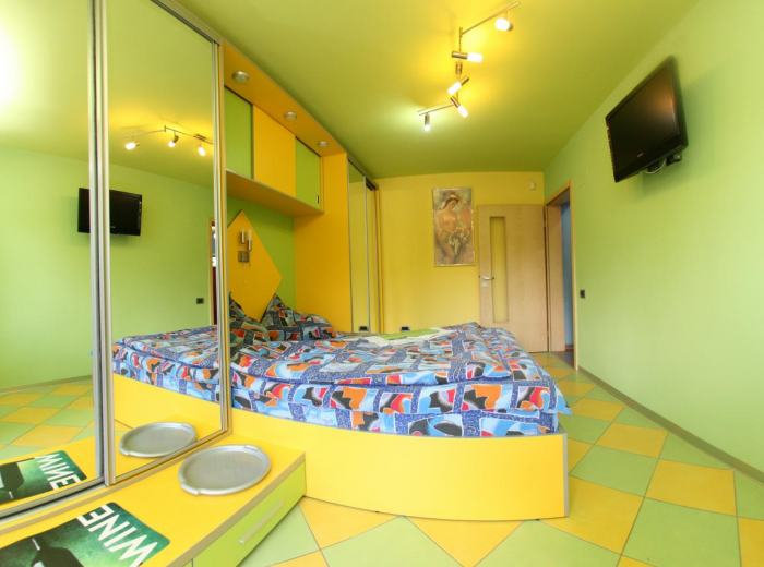 Holiday apartment 6 for rent Timisoara Vidican, linens and towels high quality, perfect cleaning, bedroom D3