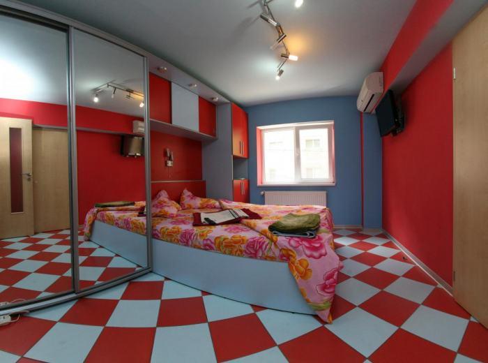 Short term luxury apartment 6 Vidican Timisoara, the second bedroom D2