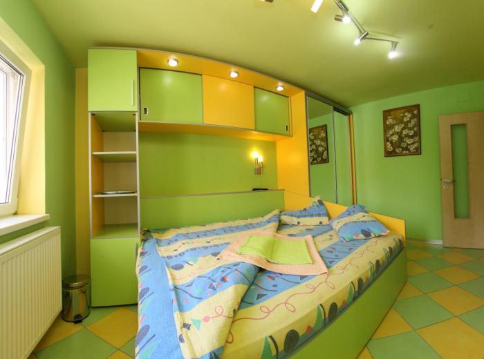 Attico 4 stanze letto da affittare breve termine Timisoara (app.6)